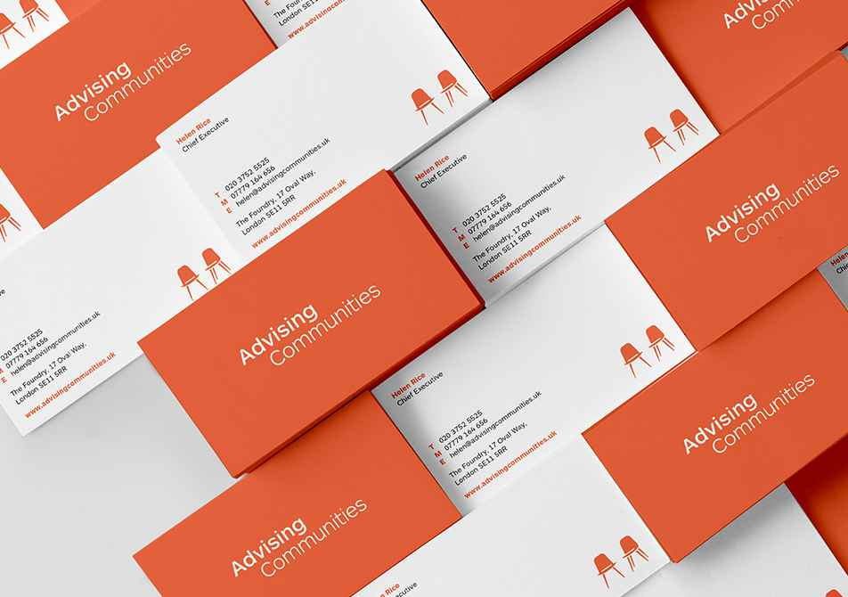Advising Communities Business Card