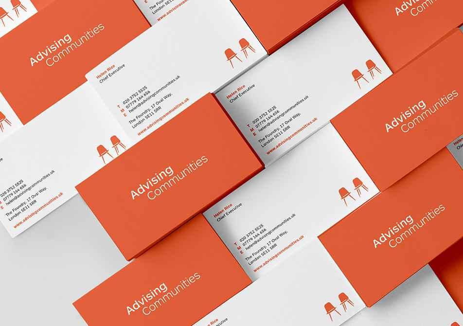 Advising Communities Business Card