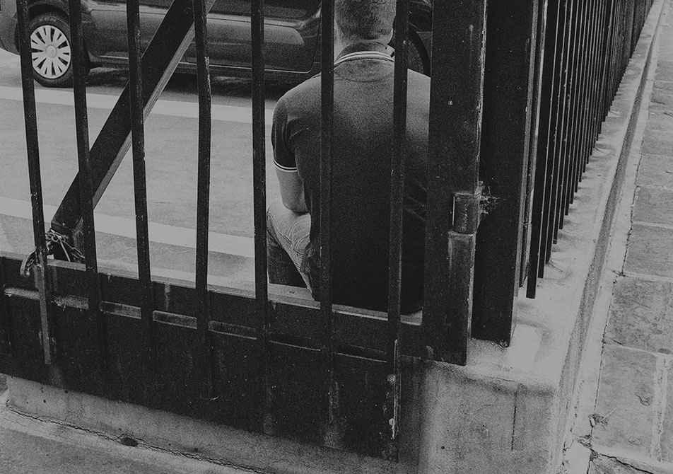 Cripplegate photo railings