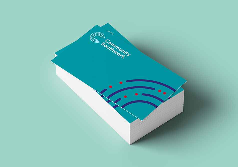 community southwark business cards