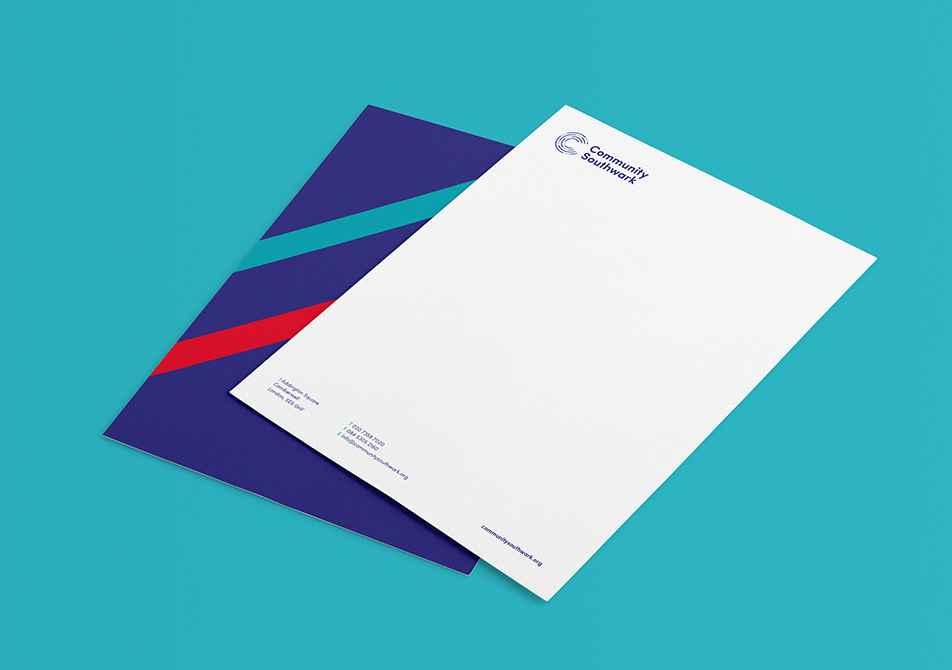 community southwark letterhead