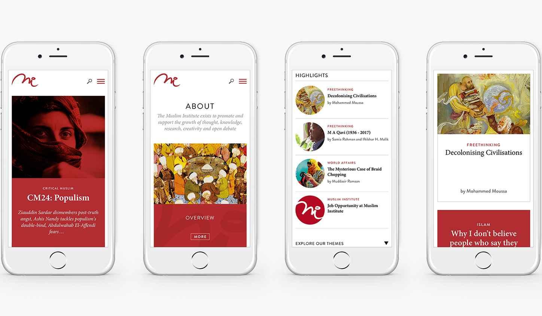 MI mobile designs