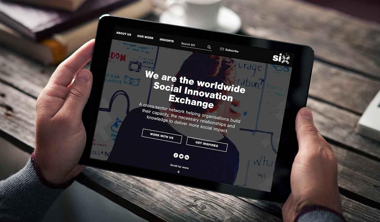 six website on ipad