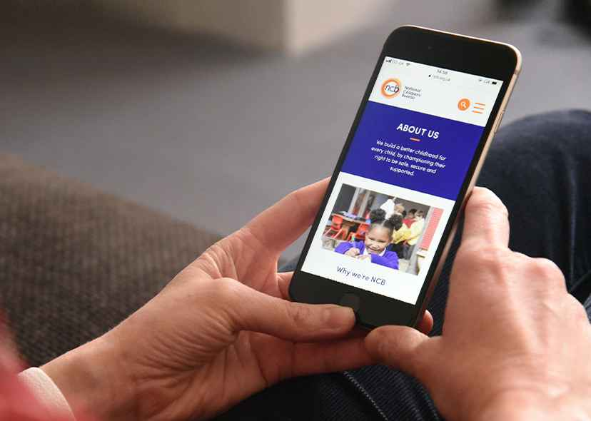 NCB mobile design