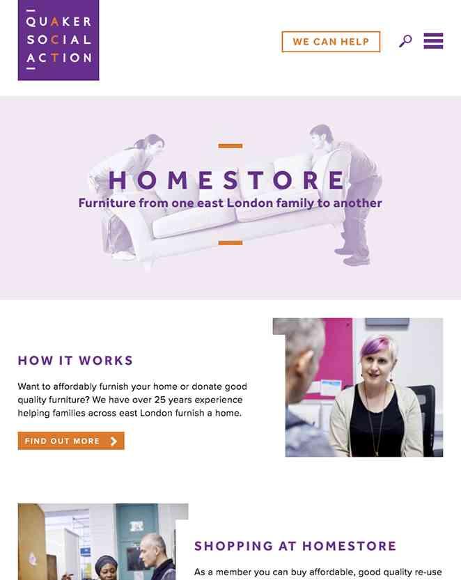 QSA website multiple browser designs